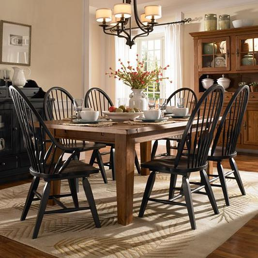 Bon Attic Heirlooms 7 Piece Dining Set By Broyhill Furniture