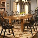 Broyhill Furniture Attic Heirlooms 9 Piece Dining Set - Rectangular Leg Table