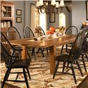 Broyhill Furniture Attic Heirlooms Leg Dining Table - Item Number: 5397-42