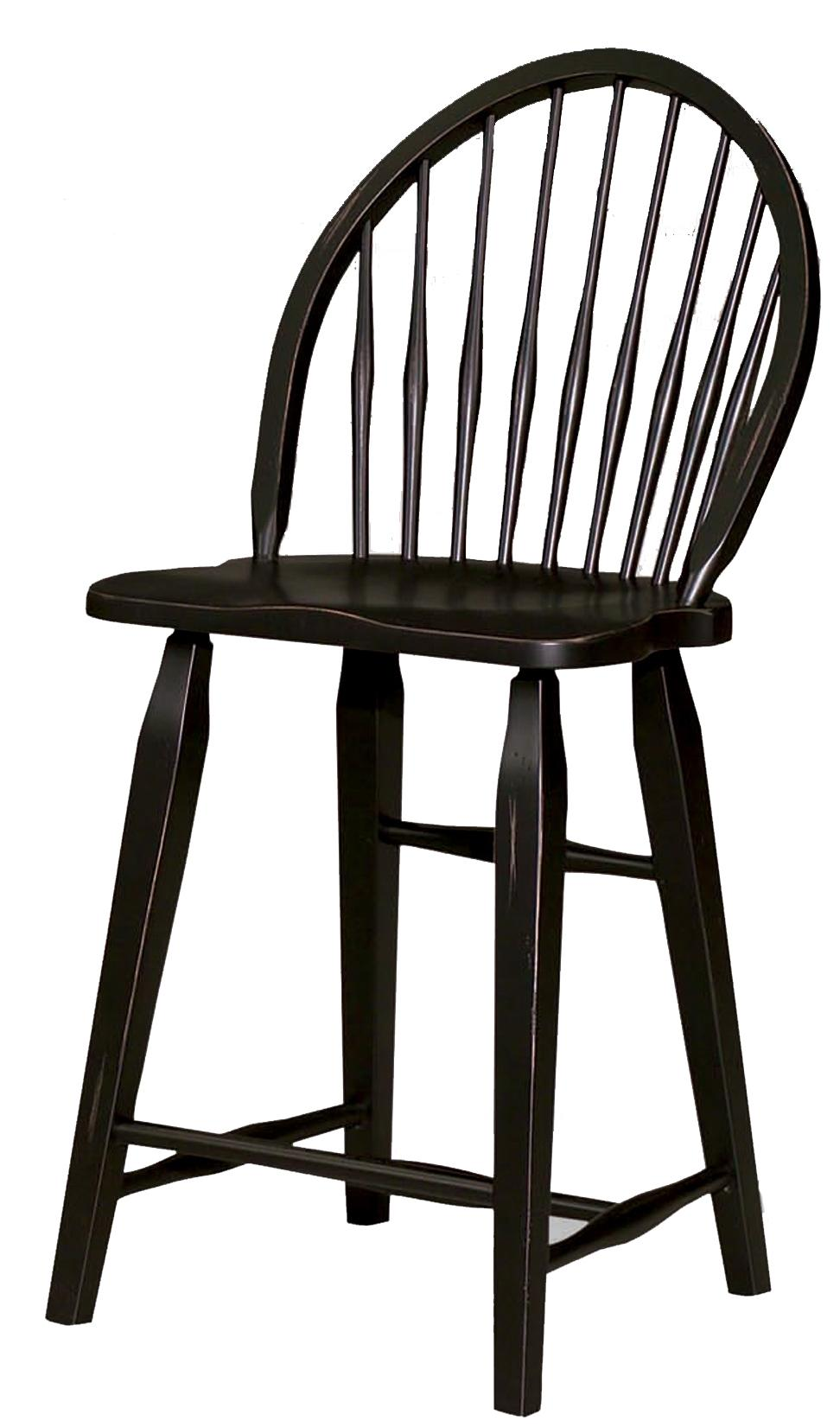 Broyhill Furniture Attic Heirlooms Windsor Counter Stool - Item Number: 5397-97B