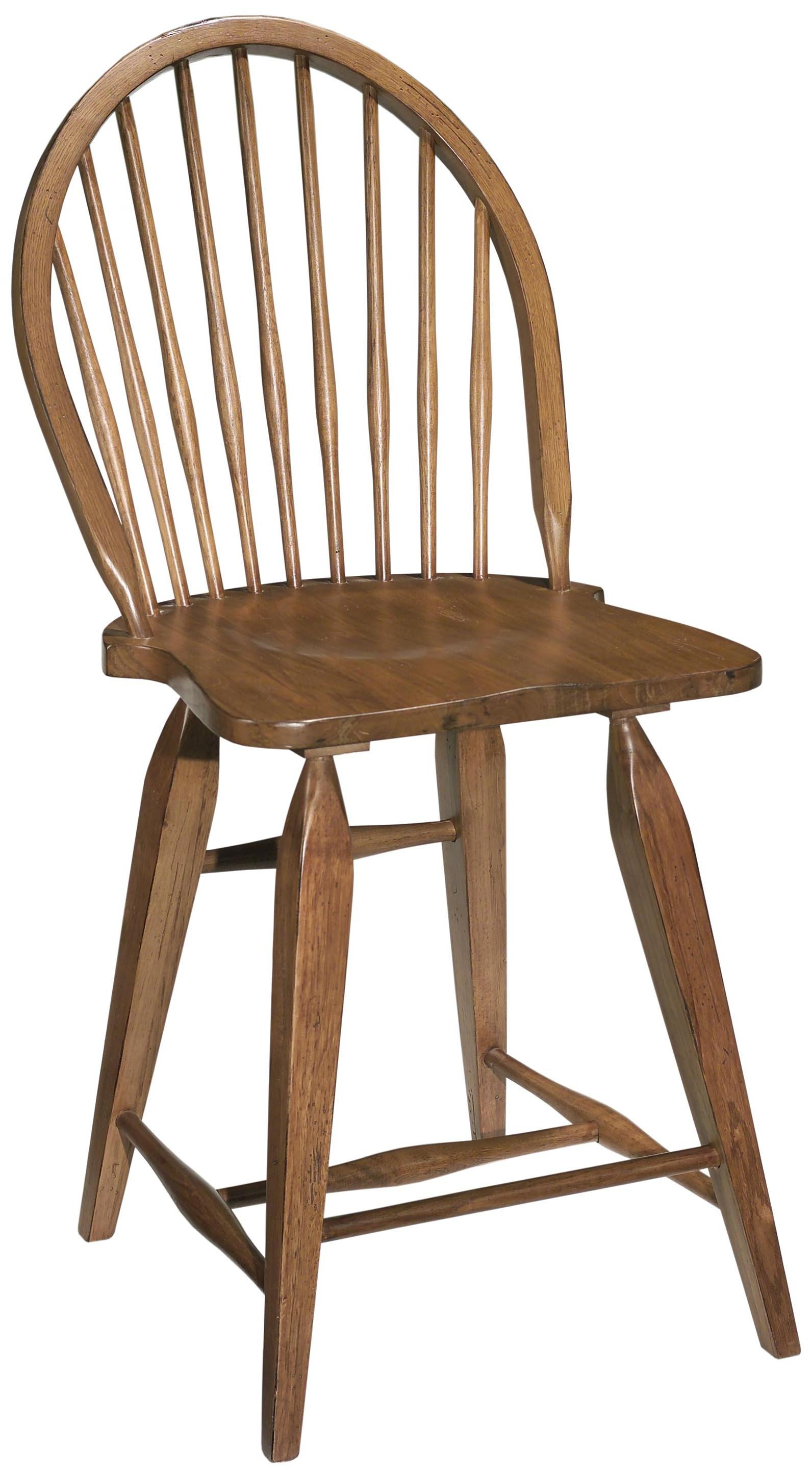 Broyhill Furniture Attic Heirlooms Windsor Counter Stool - Item Number: 5397-97S