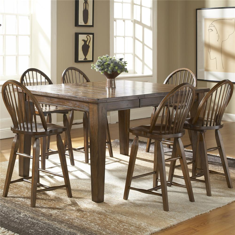 Counter Height 7 Piece Dining Set