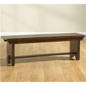 Broyhill Furniture Attic Rustic Bench