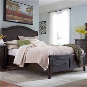 Broyhill Furniture Attic Retreat Queen Sleigh Storage Bed