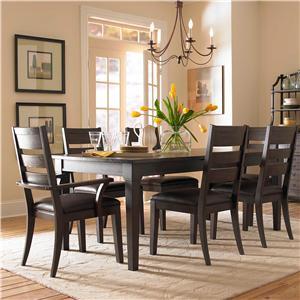 Broyhill Furniture Attic Retreat 7 Piece Dining Table and Chair Set