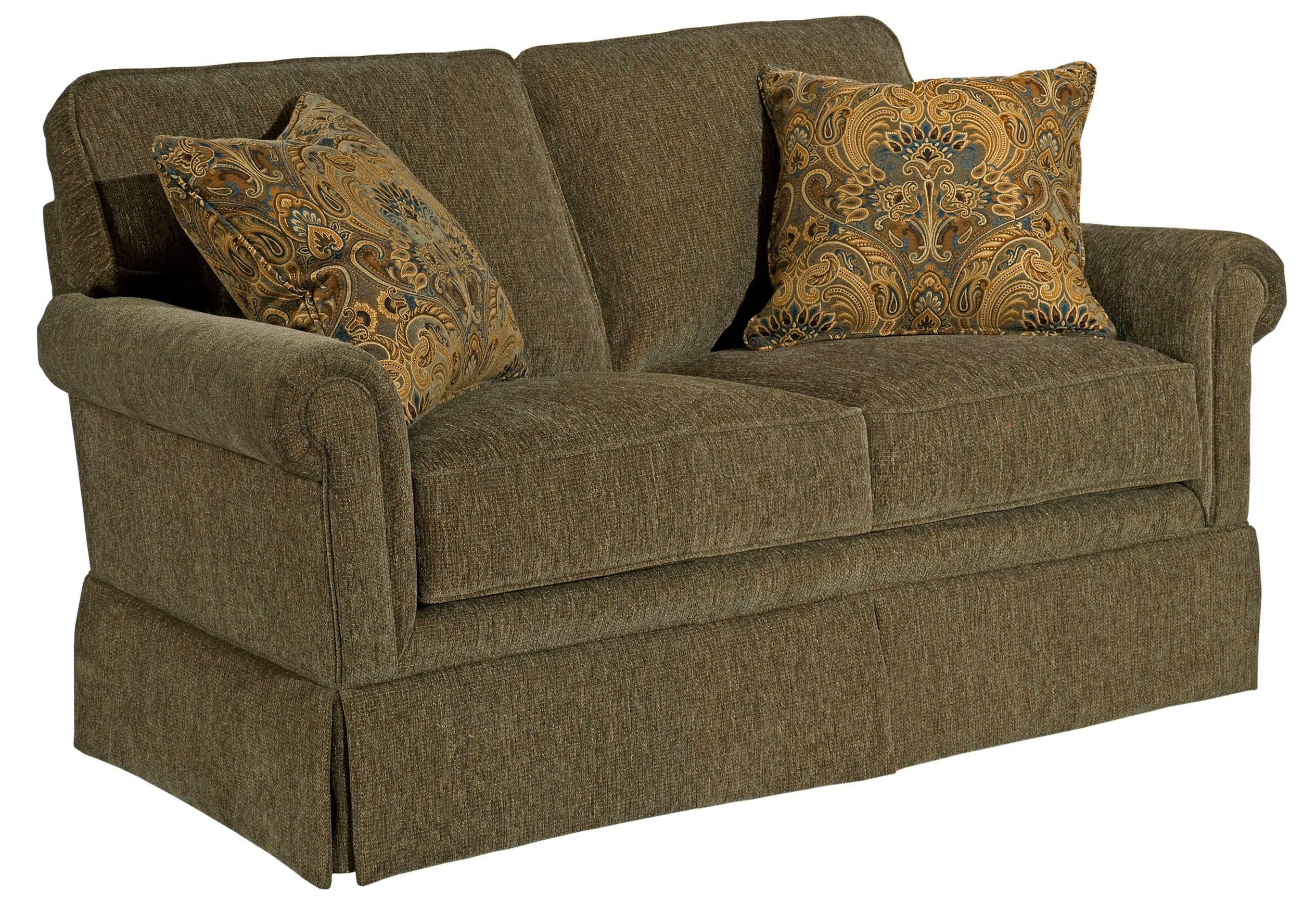 Broyhill Furniture Audrey Upholstered Love Seat - Item Number: 3762-1