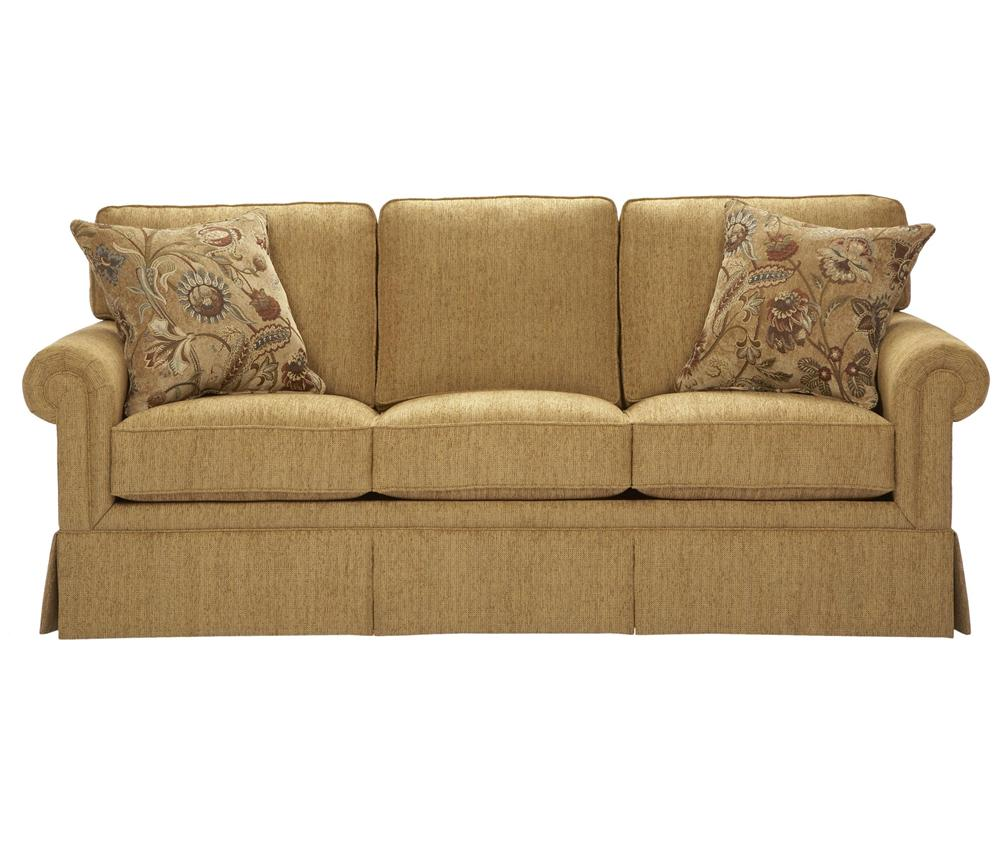 Broyhill Furniture Audrey Stationary Sofa - Item Number: 3762-3