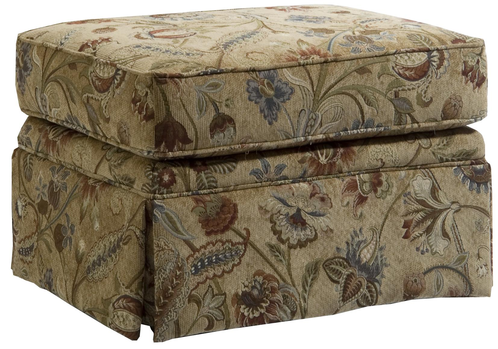 Surprising Broyhill Furniture Audrey Ottoman With Skirt Fmg Local Dailytribune Chair Design For Home Dailytribuneorg