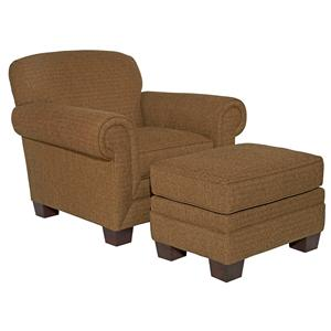 Broyhill Furniture Ava  Chair and Ottoman