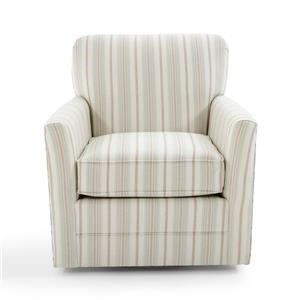 Broyhill Furniture Becks Swivel Chair