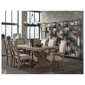 Broyhill Furniture Bedford Avenue Formal Dining Room Group