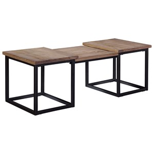 Broyhill Furniture Bedford Avenue Martense Street Step Cocktail Table