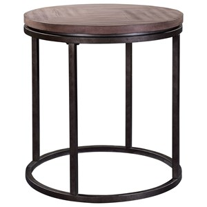 Broyhill Furniture Bedford Avenue St. John's Place Round Lamp Table