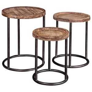 Broyhill Furniture Bedford Avenue 6th Street Nesting Tables