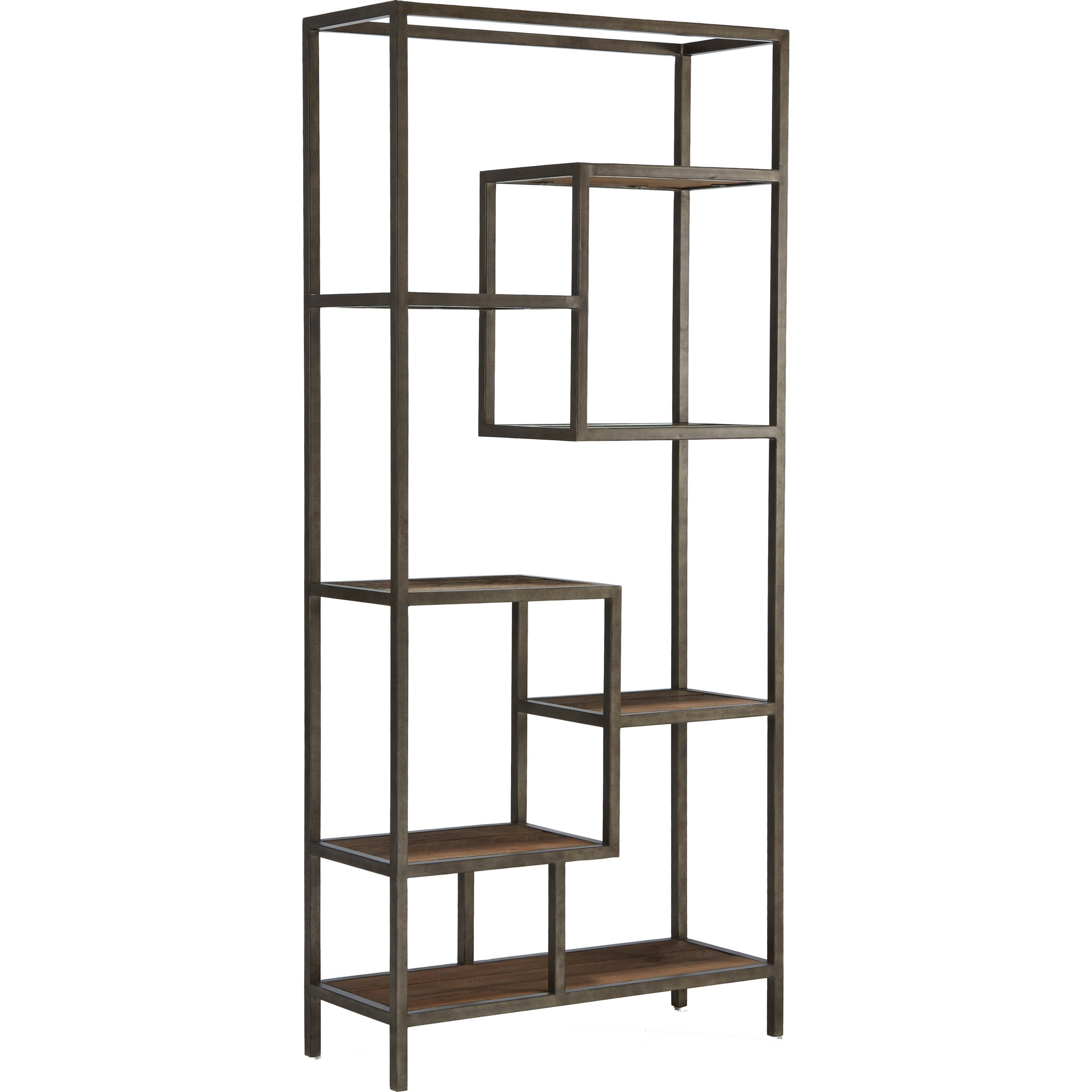Broyhill Furniture Bedford Avenue Rutledge Street Step Shelf Etagere - Item Number: 8615-022