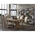 Broyhill Furniture Bedford Avenue Rutledge Street Step Shelf Etagere