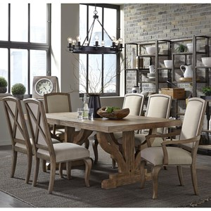 Broyhill Furniture Bedford Avenue 7 Piece Table and Chair Set