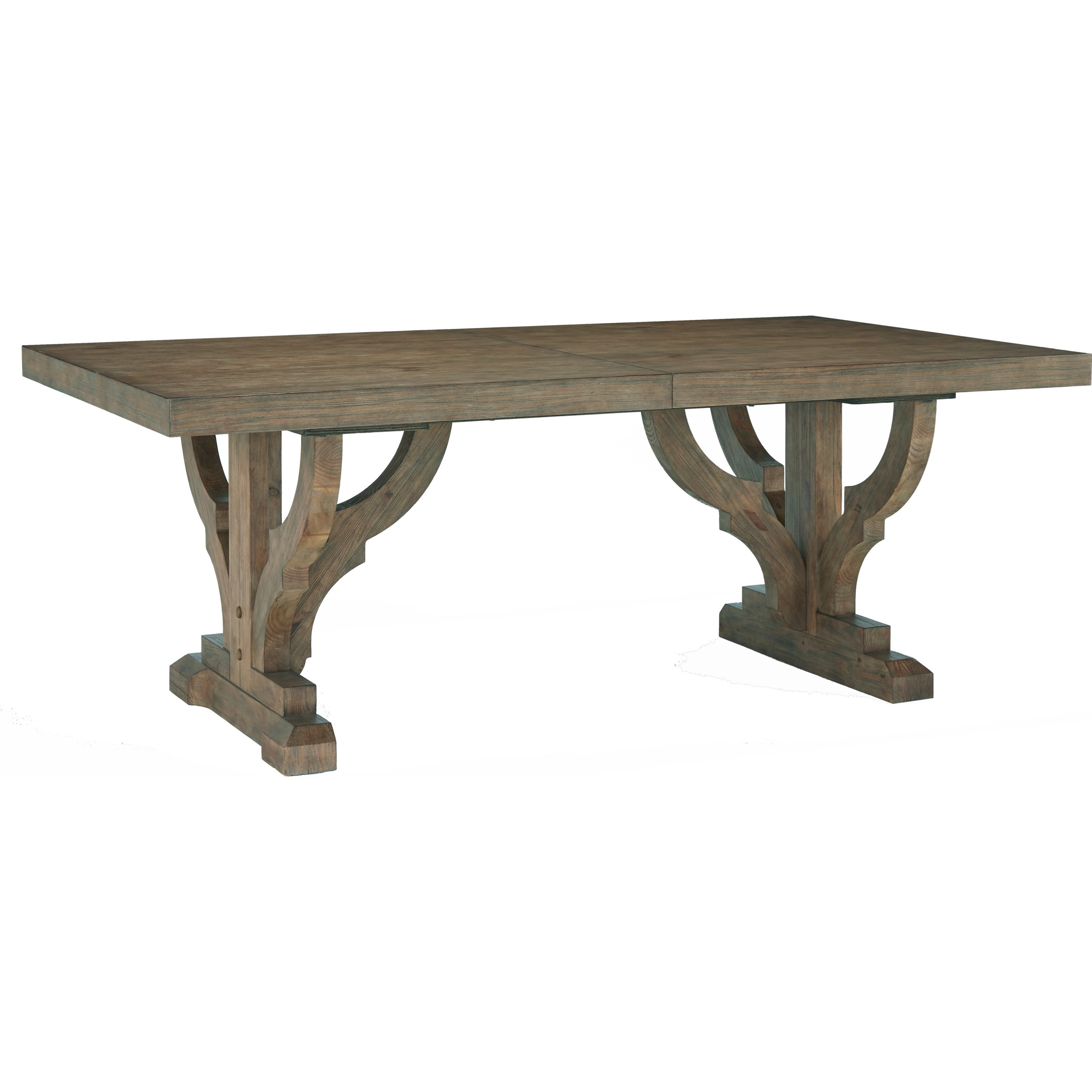 Broyhill Furniture Bedford Avenue 4th Street Architectural Salvage Table - Item Number: 8615-501
