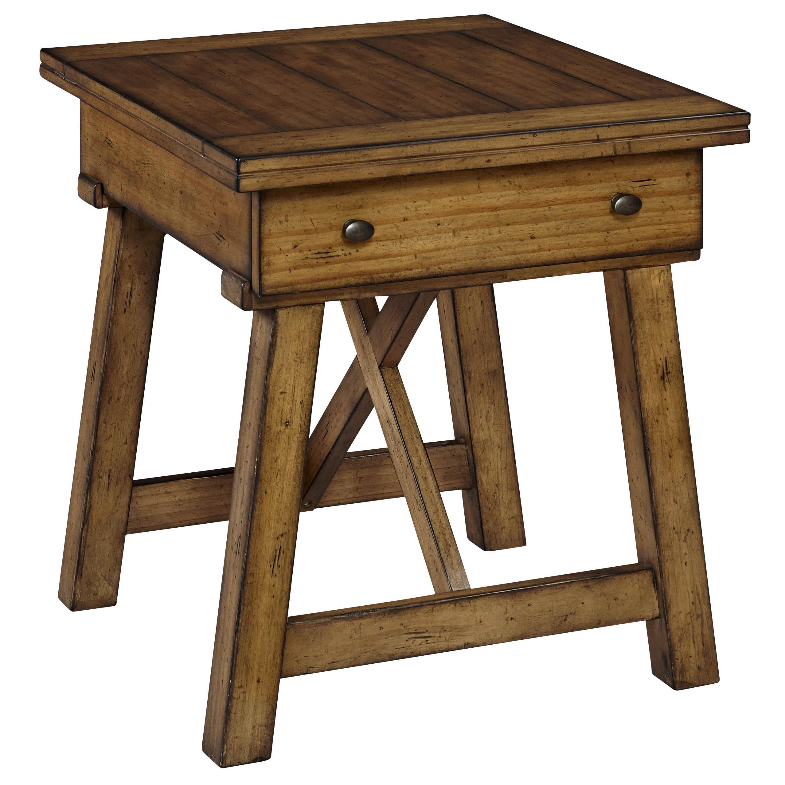 Broyhill Furniture Bethany Square Drawer End Table - Item Number: 4930-002