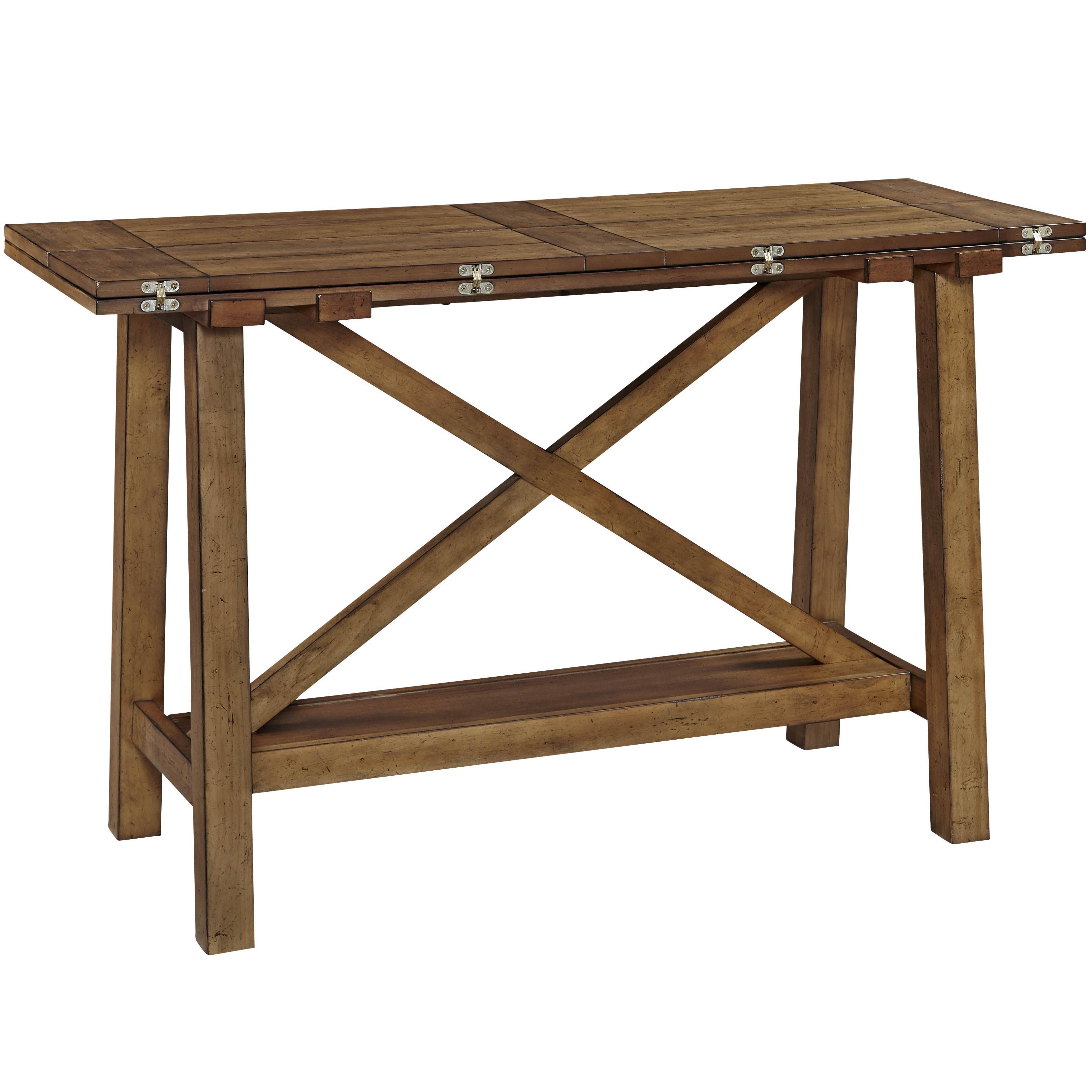 Broyhill Furniture Bethany Square Console Desk Table - Item Number: 4930-009