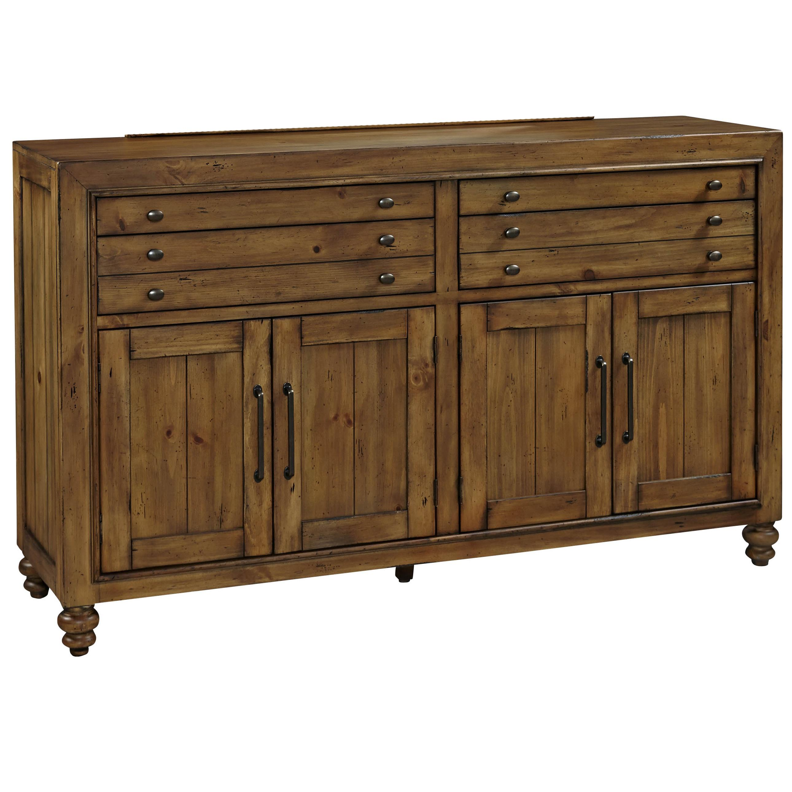 Broyhill Furniture Bethany Square Door Dresser - Item Number: 4930-232