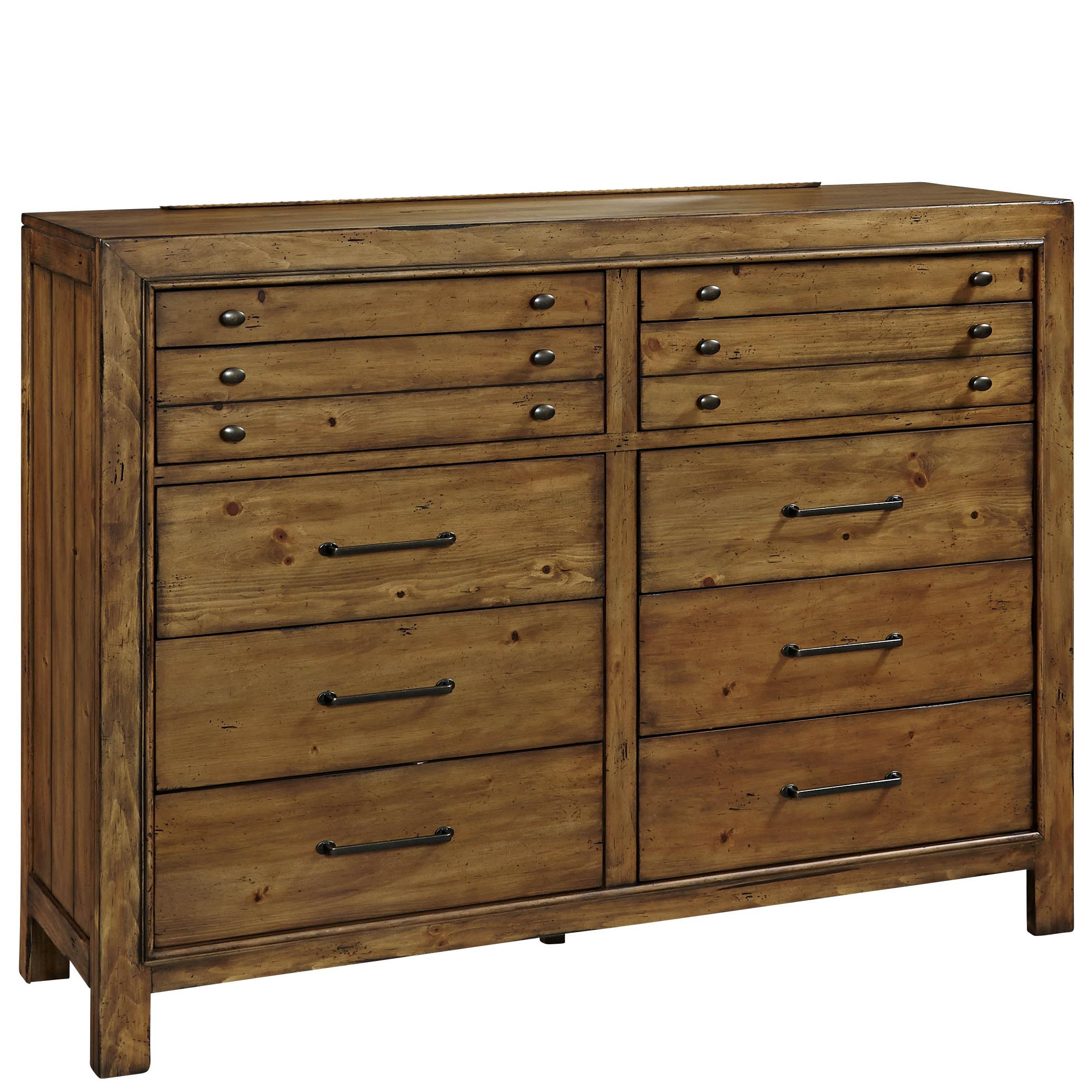 Broyhill Furniture Bethany Square 10 Drawer Chesser - Item Number: 4930-234