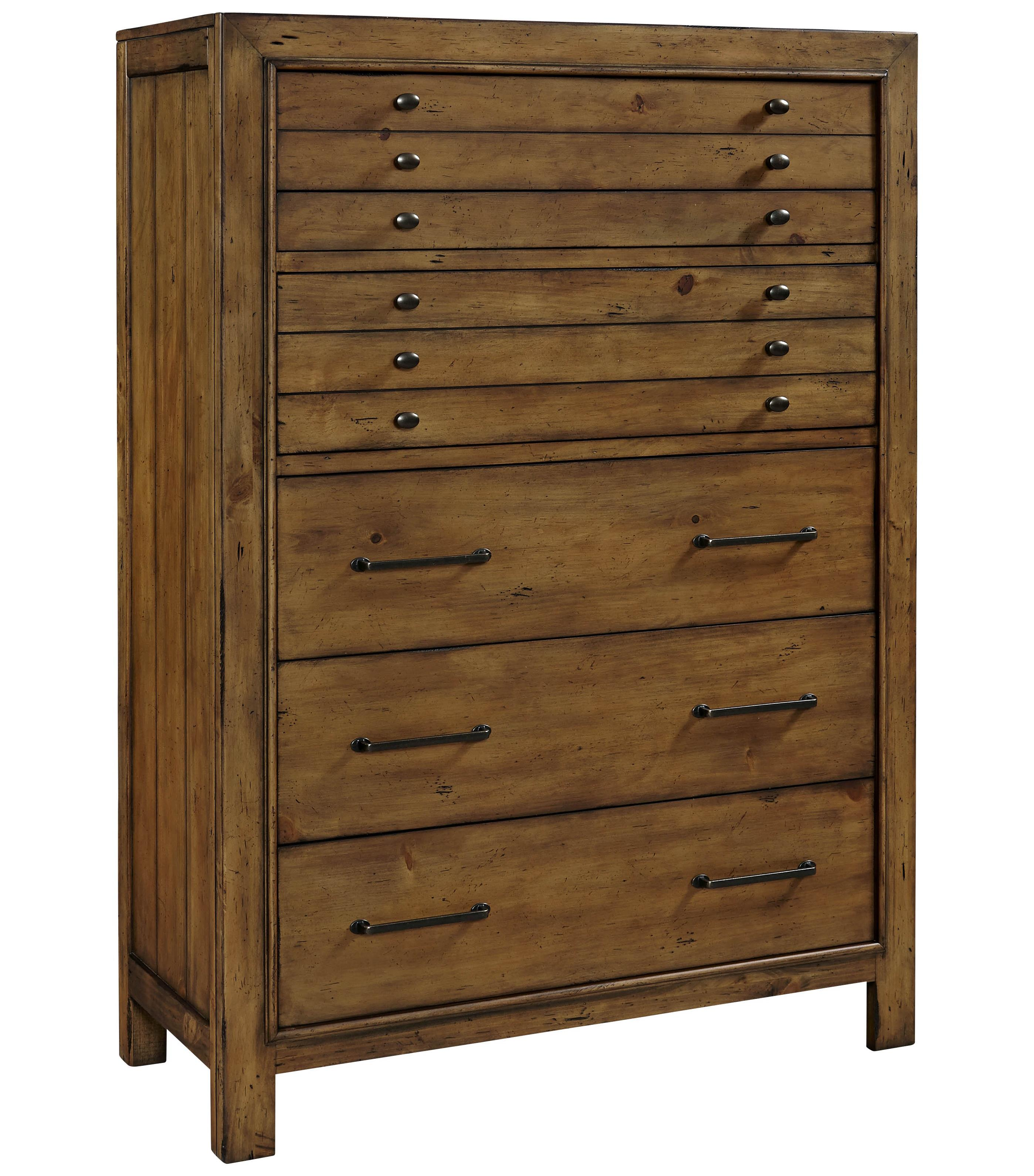Broyhill Furniture Bethany Square 6 Drawer Chest - Item Number: 4930-240