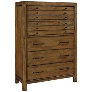 Broyhill Furniture Bethany Square 6 Drawer Chest