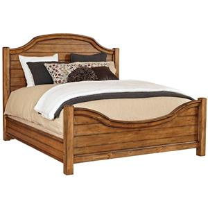 Broyhill Furniture Bethany Square Queen Panel Bed