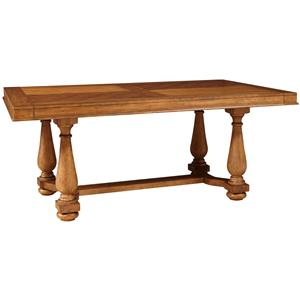 Broyhill Furniture Bethany Square Trestle Table