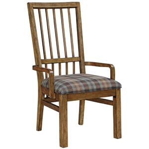 Broyhill Furniture Bethany Square Upholstered Seat Arm Chair