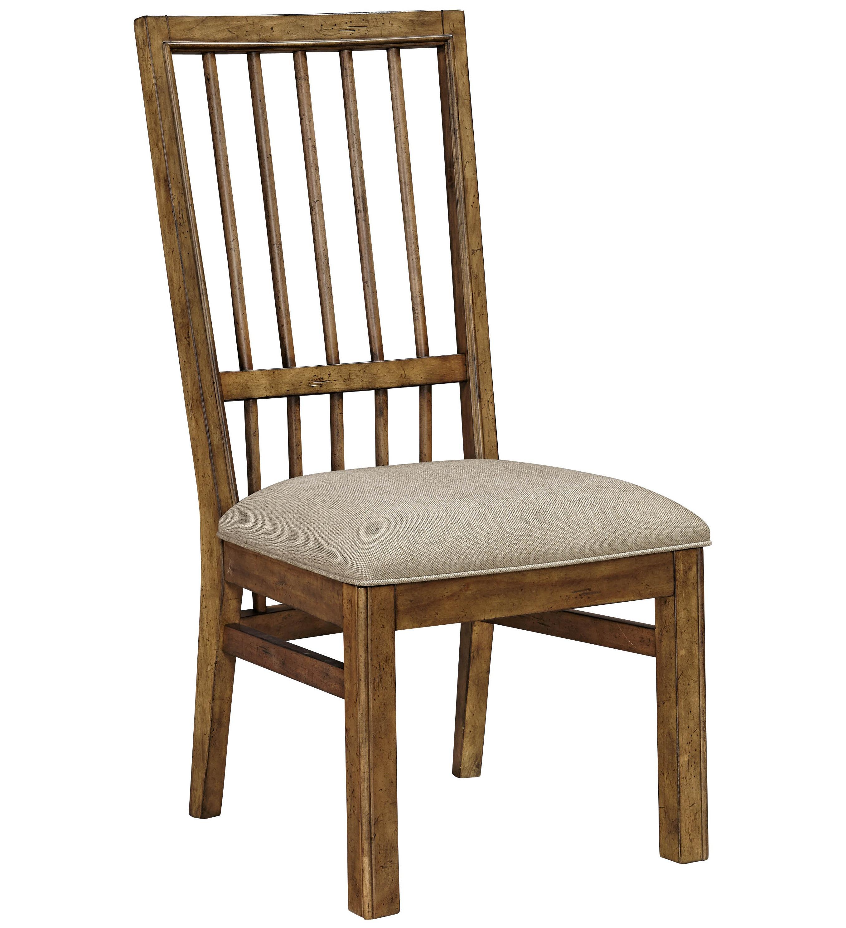 Broyhill Furniture Bethany Square Upholstered Seat Side Chair - Item Number: 4930-581