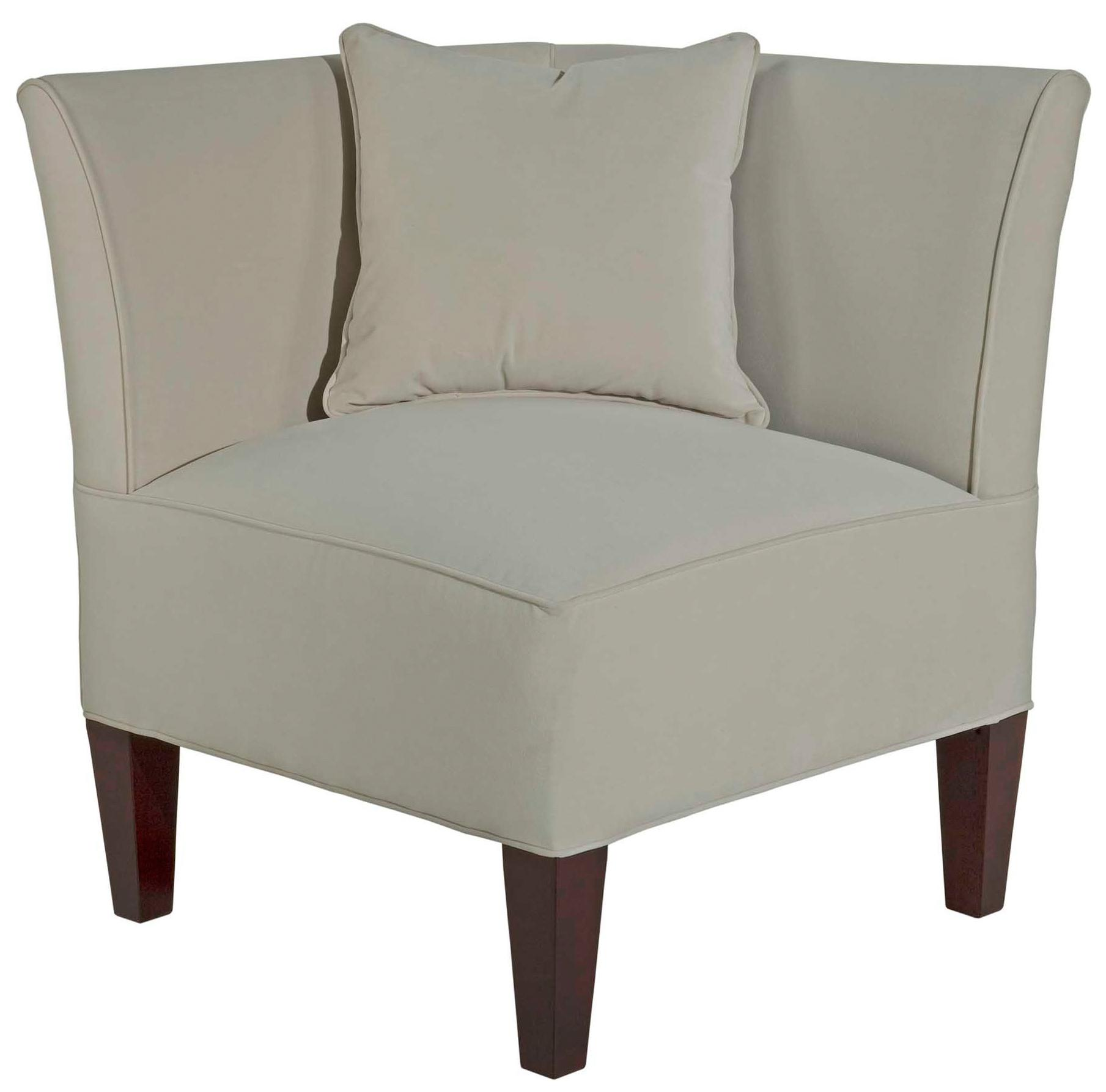 Broyhill Furniture Caitlyn Corner Chair with Track Arms - AHFA ...