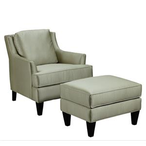 Broyhill Furniture Camdon Chair and Ottoman Set