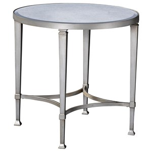 Broyhill Furniture Camille Round Lamp Table