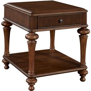 Broyhill Furniture Cascade Drawer End Table