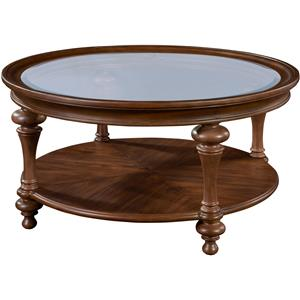 Broyhill Furniture Cascade Round Cocktail Table