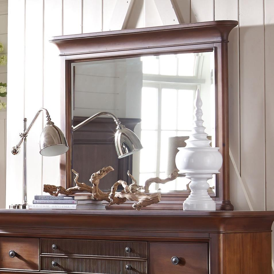Cascade Dresser Mirror with Beveled Glass by Broyhill Furniture at Knight  Furniture & Mattress