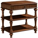 Broyhill Furniture Cascade Night Table with 2 Shelves