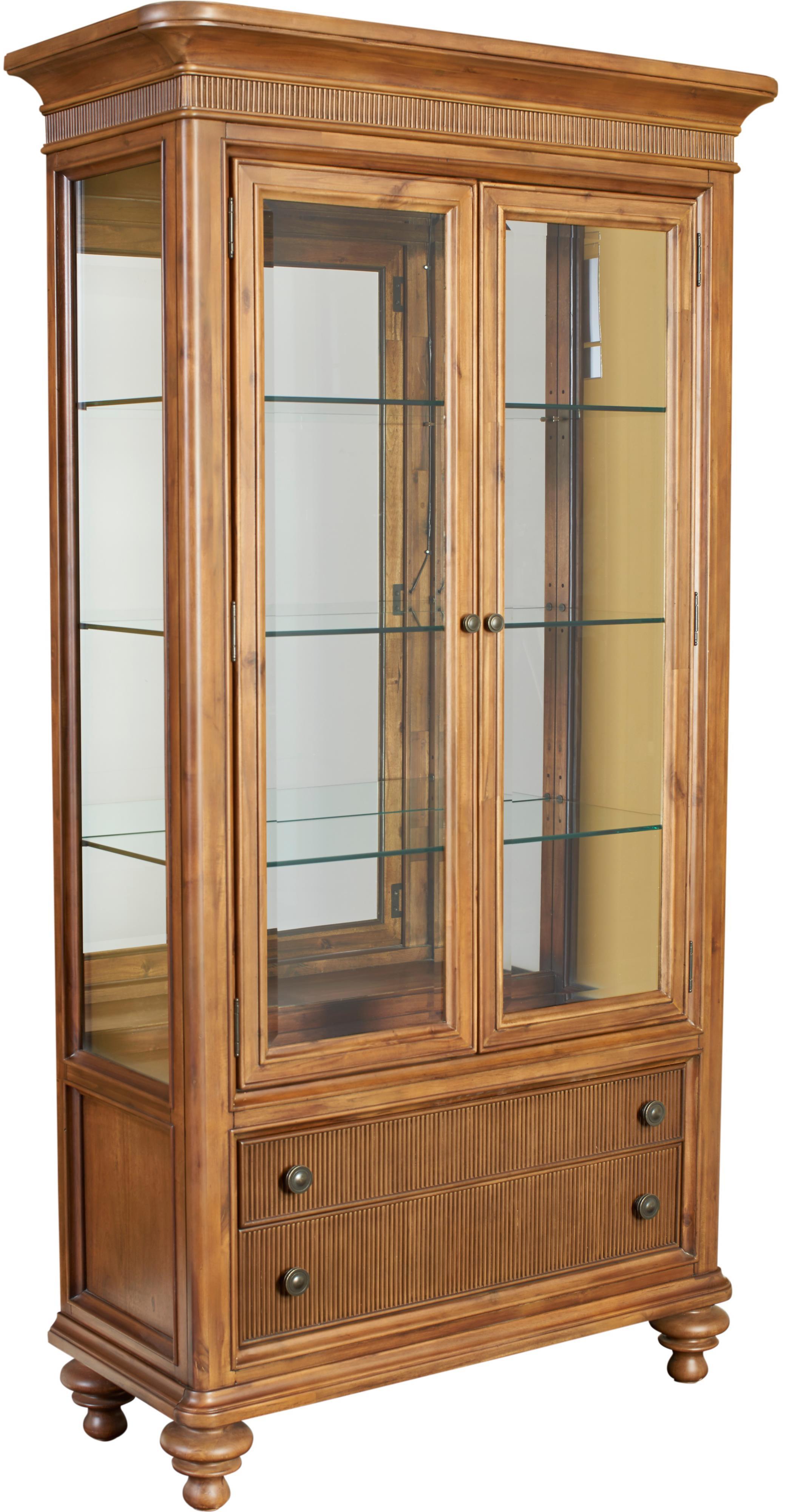 Broyhill Furniture Cascade Curio China - Item Number: 4940-560