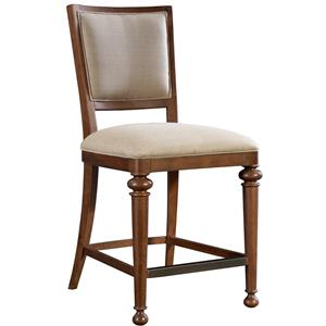 Broyhill Furniture Cascade Upholstered Counter Height Stool