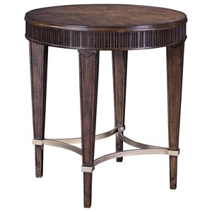 Broyhill Furniture Cashmera Round Lamp Table