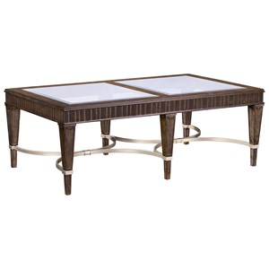 Broyhill Furniture Cashmera Rectangle Cocktail Table
