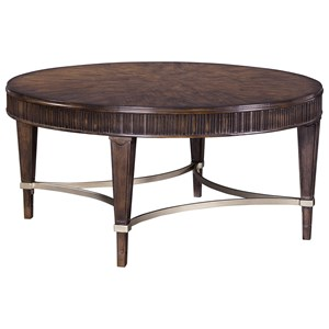 Broyhill Furniture Cashmera Round Cocktail Table