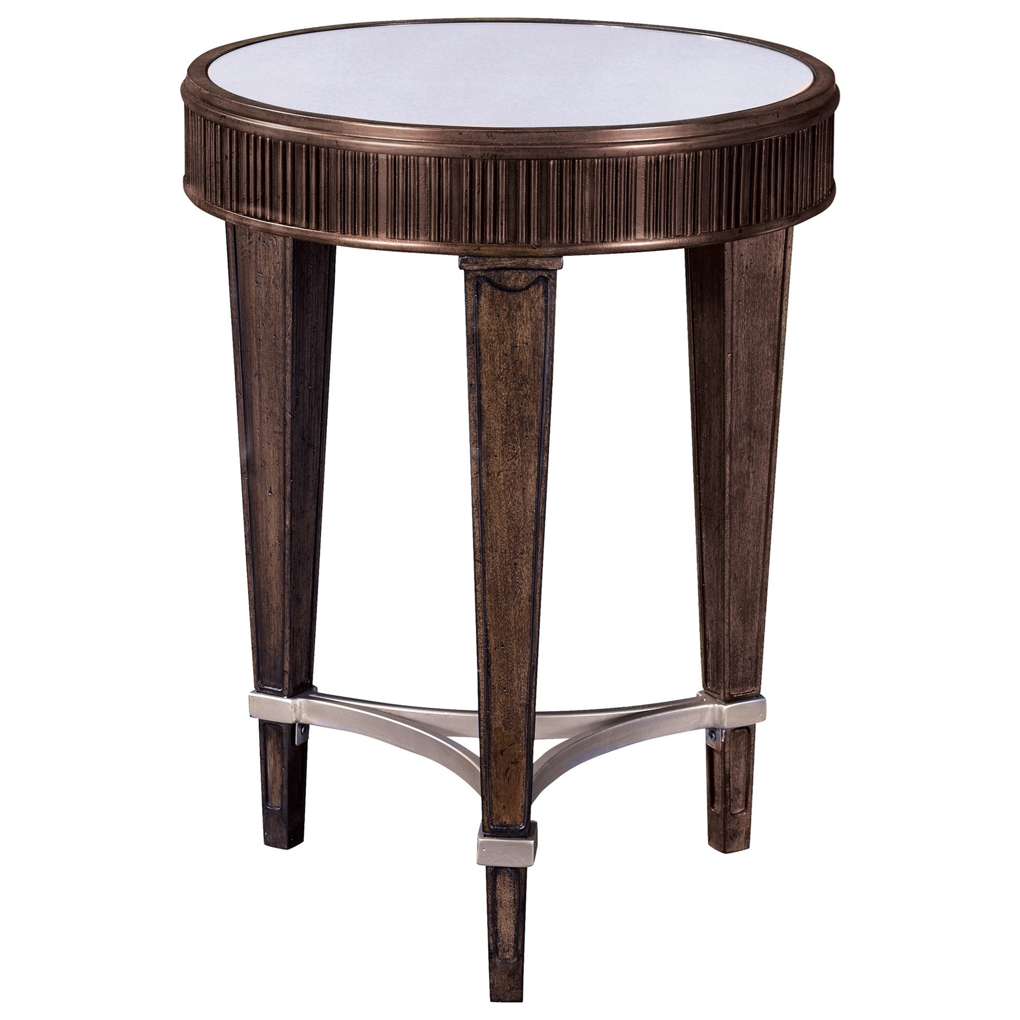 Broyhill Furniture Cashmera Round Chairside Table - Item Number: 4860-004