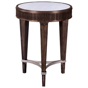 Broyhill Furniture Cashmera Round Chairside Table