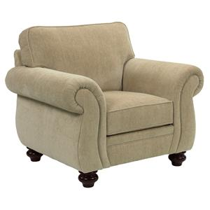 Broyhill Furniture Cassandra Traditional Stationary Chair