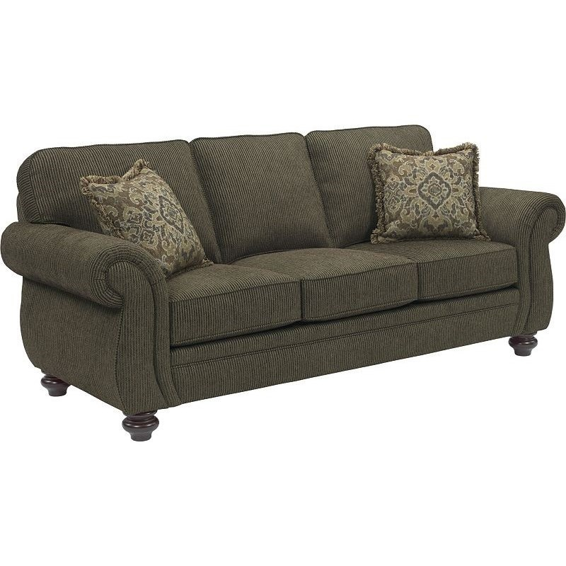 Broyhill Furniture Cassandra Traditional Stationary Sofa - Item Number: 3688-3-8997-28