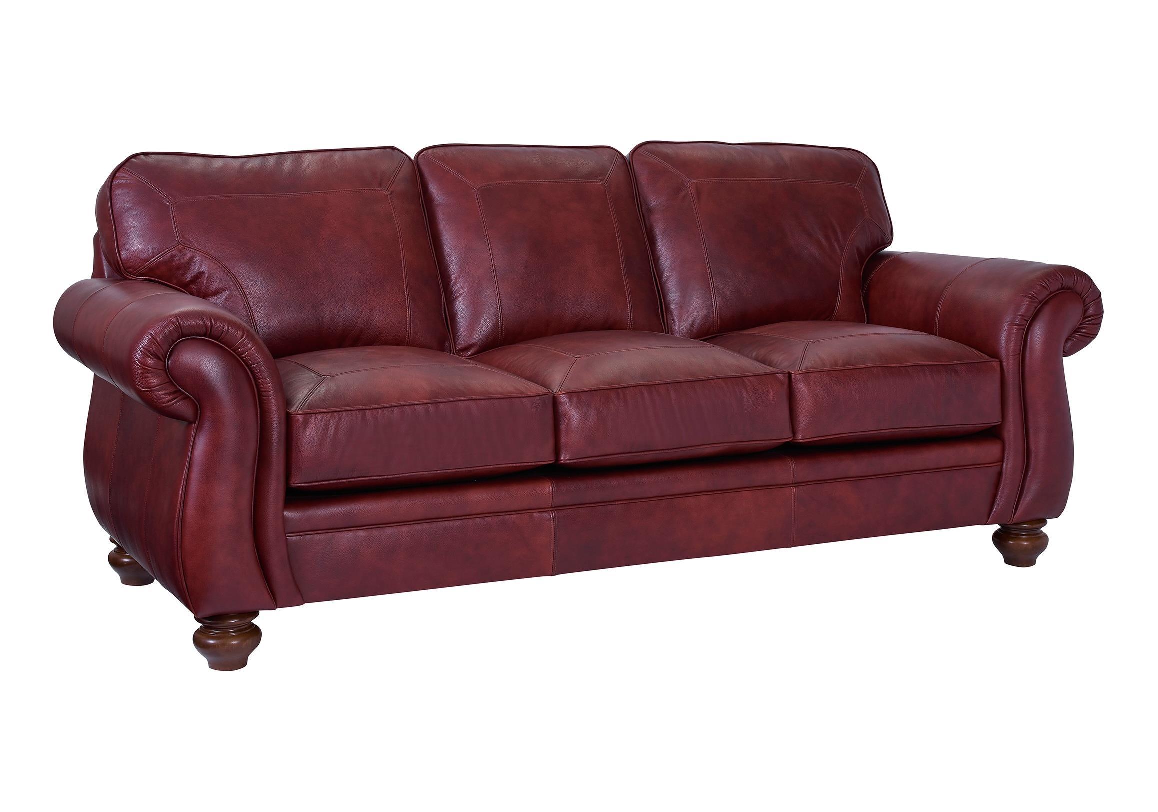 Broyhill Furniture Cassandra Traditional Stationary Sleeper Sofa - Item Number: L3688-7-0063-69
