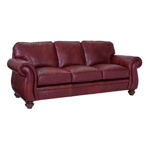 Traditional Stationary Sleeper Sofa